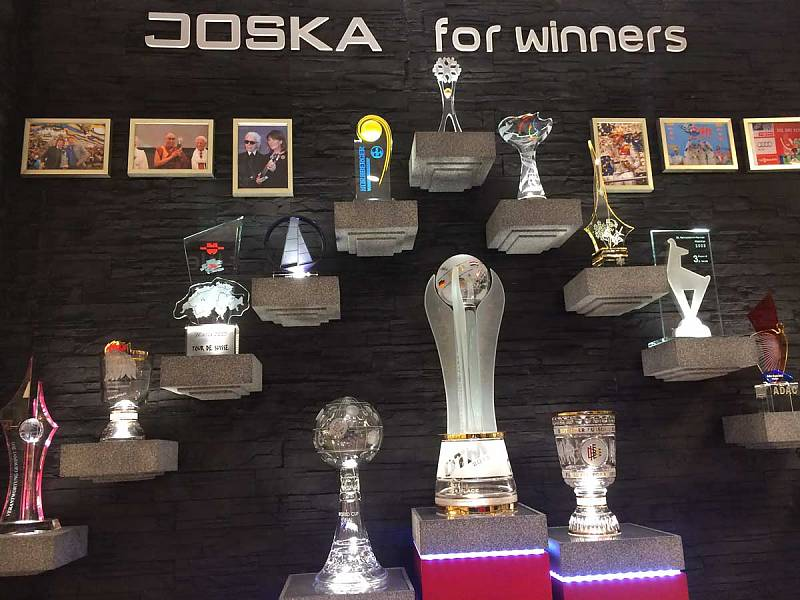Joska Pokale Hall of Fame im Glasparadies