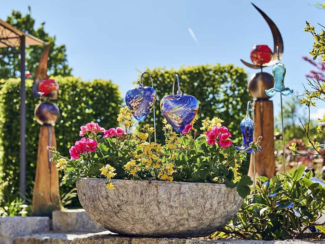 Glaskunst Für Den Garten : gartendekorationen joska bodenmais ~ Watch28wear.com Haus und Dekorationen