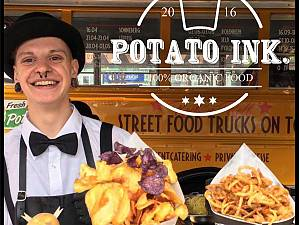Food Truck Festival in Bodenmais mit Potato Ink.
