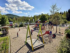 Flying Fox im JOSKA Kinderland